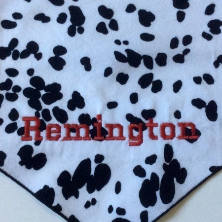 Cow Print Dog Bandana