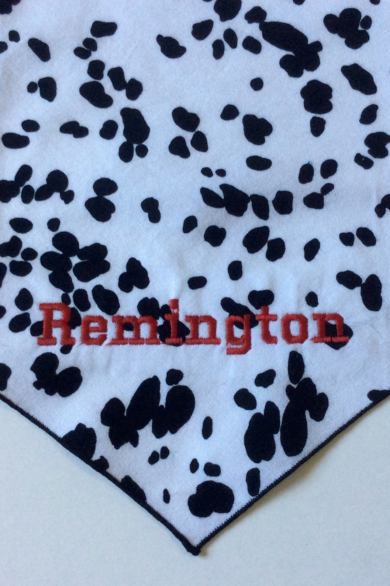 Cow Print Dog Bandana