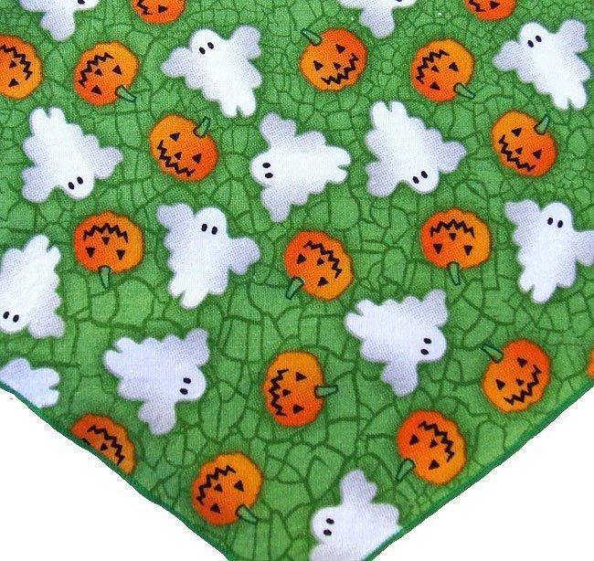 Pumpkins & Ghosts Bandana
