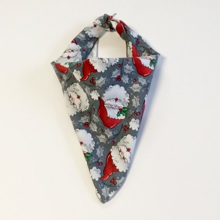 Jolly Santa Claus Dog Bandana