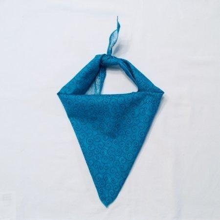 Turquoise Infinity Dog Bandana