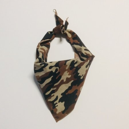Brown Camo Dog Bandana